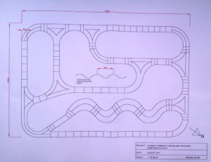 Proposed Pump Track Layout